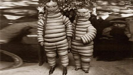 100年前的米其林轮胎人长什么样? 看完真是觉得有点可怕!