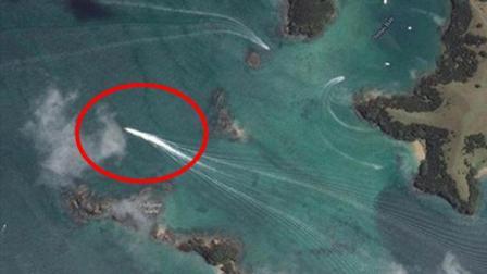 男子用谷歌地图, 发现尼斯湖水怪, 引起了全世界科学家的关注