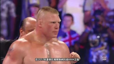 WWE盘点: 细数半兽人莱斯纳五大碎骨时刻, 两次掰断游戏主宰手臂!