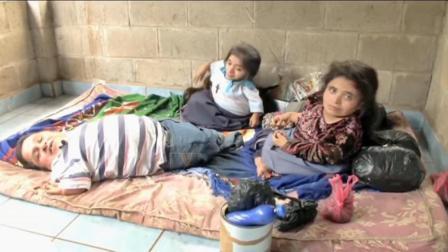 心酸! 农村一家三口都是残疾人, 住几十平方米的房子, 生活却开心