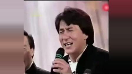 1993成龙李连杰在中央电视台的一次同台