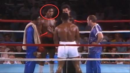 20岁的泰森被12胜5负的对手看不起, 结果泰森一拳就让他后悔不已
