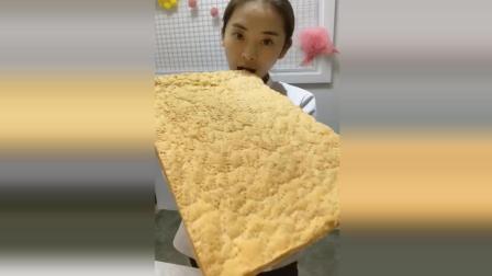 甜品师自制苏打饼干, 够大又好吃!