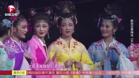 黄梅戏《天仙配》选段, 七位仙女舞美戏美人更美