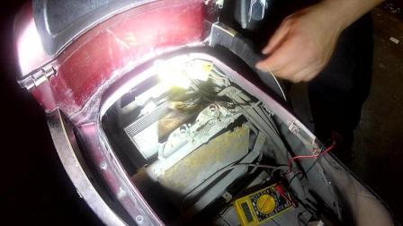 电动车维修加转把一阵不跑