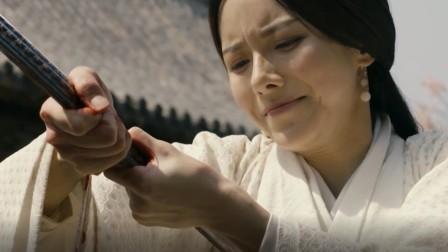 美女夫君被捕,竟当场拿剑刺胸膛,双手沾满鲜血,场景吓懵旁人