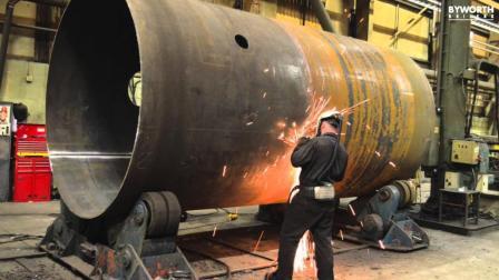 原来蒸汽锅炉是这么制造出来的, 真是长见识了