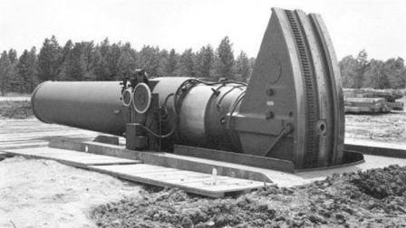 人类又一疯狂武器, 研发出口径达914mm的小大卫巨炮