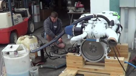 康明斯船用柴油发动机, 5.9L排量480马力, 听听这声音多带劲