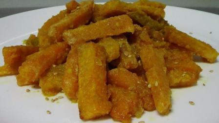 蛋黄焗南瓜最有质量的做法, 色香味俱全, 出锅的那一刻, 流口水了!