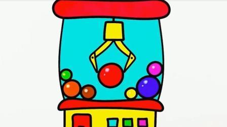 一起画一画糖果机器
