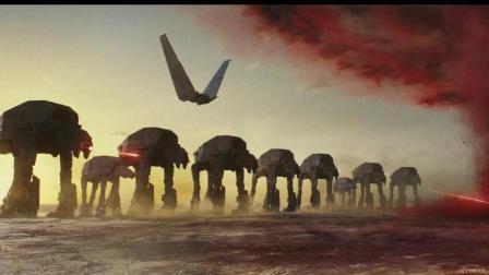 星战8, 最后的绝地武士出场霸气, 狂轰滥炸都没事