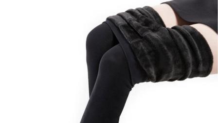 女人常穿的黑色打底裤, 老是沾毛掉毛抽丝, 这个解决妙招快收好!