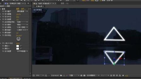 影视后期案例课程AE光影特效视频教程第二课