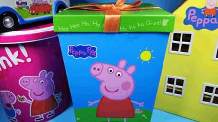 亲子互动一起拆封粉红猪小妹曲奇饼干礼盒