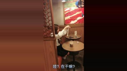 搞笑段子剧: 无意间看到韩国美少女, 特别逗的一面啊!