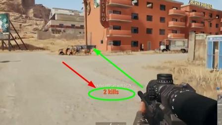 《绝地求生》有谁在游戏里遇到过1枪穿死2名玩家? 太罕见了
