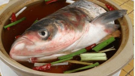 野生太湖鱼野外美食制作