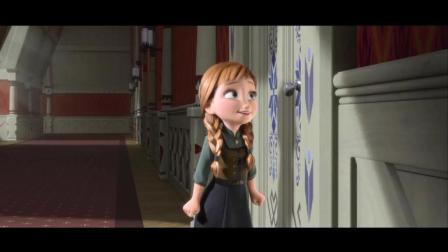 《冰雪奇缘》经典音乐片段 你想不想堆个雪人