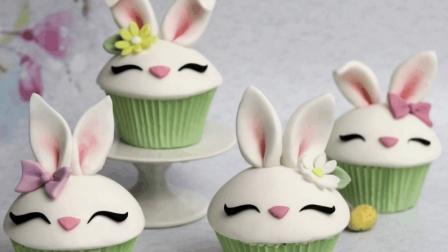 萌萌哒的小兔子蛋糕, 看一眼就舍不得吃了