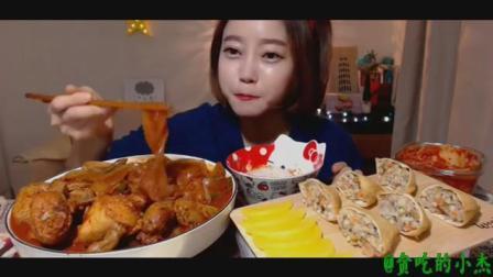 小杰搬运 韩国 女主播 吃播 辣鸡宽粉
