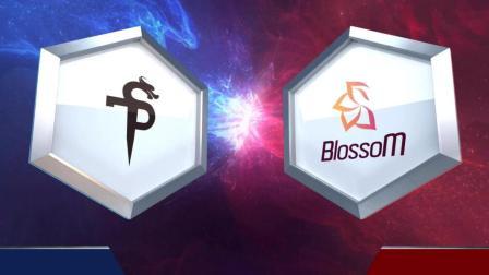 SPT vs BlossoM 风暴英雄东区对决2018