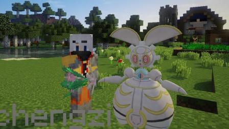 灰哥我的世界《神奇宝贝日月版》1: 三个宝箱宝贝丛林神兽