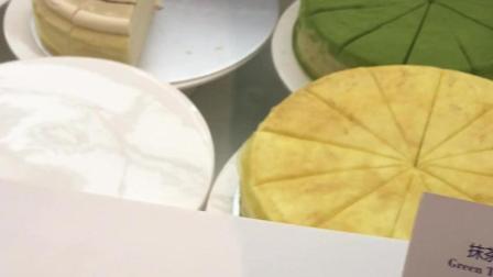 上海国金的lady M蛋糕品种