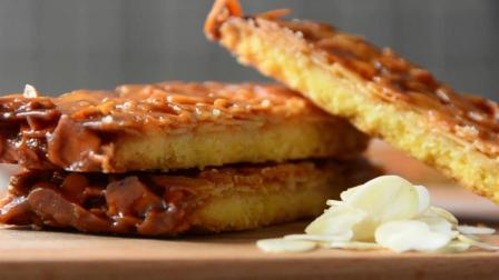 你与意大利和法国风味只有一个屏幕的距离! 5分钟超详细教你学会做佛洛伦丹焦糖杏仁饼干