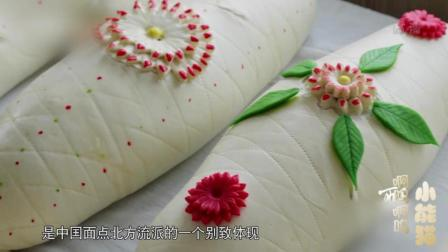 中国饮食里的传统面食: 山东面点大寿桃