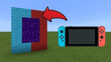 我的世界: 在游戏里玩Switch 还能自定义手柄颜色?