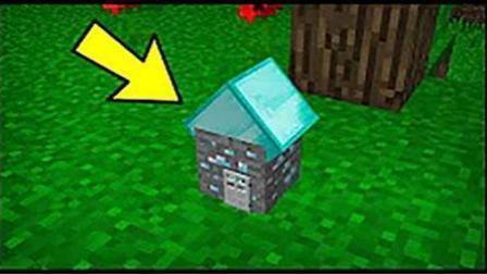 魔哒我的世界 迷你钻石村民小屋与他们的神奇工具minecraft