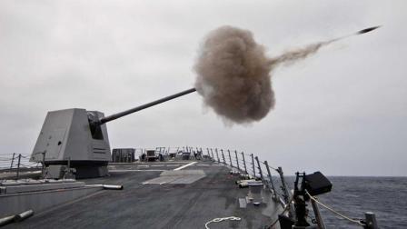美军先进的MK45舰炮, 自动化操作, 很多国家都想买一座