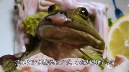 """变态民族""""虐食""""牛蛙  网友: 这群人怕是超越贝爷的存在"""