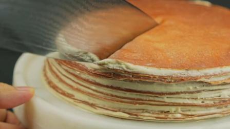 「乌龙茶千层蛋糕」醇香乌龙, 配上丝滑口感, 会有不一样的体验哦