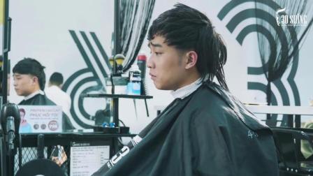 痞子发型换了款规矩的型男短发, 脸色气质确实不一样了!