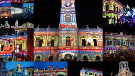 绚丽的澳大利亚夜景-灯光绚丽的白昼节WhiteNight Ballarat 18