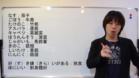 【井上||精品】日语教学: 初级日语77——「蔬菜」