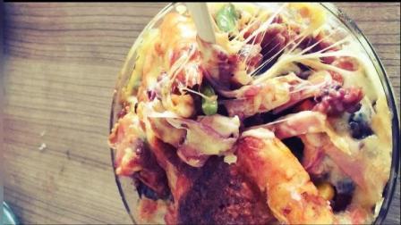 芝士海鲜焗饭