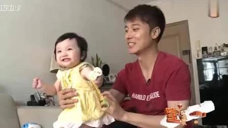 彤彤第一次唱歌, 爸爸张丹峰听得一脸懵! 但还是好幸福!