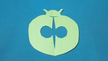 剪纸小课堂: 瓢虫, 儿童喜欢的手工DIY, 动手又动脑