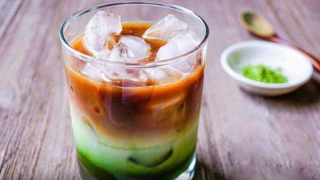 爱剪辑-教你做抹茶浓缩冰拿铁, 再也不用怕有人问: 抹茶拿铁为什么没有咖啡?