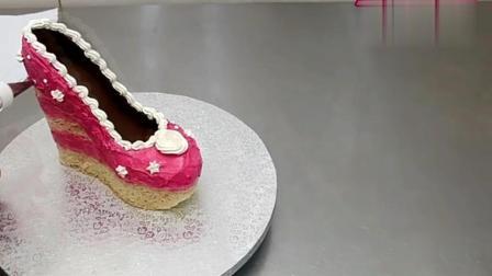 2018女皇高跟鞋蛋糕制作步骤