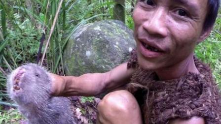 """越南男子住丛林40年, 被政府""""拯救""""出来!"""