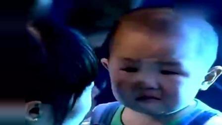 3岁张俊豪发怒, 竟然骂评委滚, 妈妈直接给了他一巴掌!