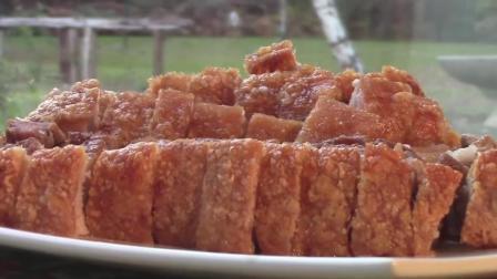 脆皮烧肉的正宗做法, 吃起来赞不绝口, 回味无穷