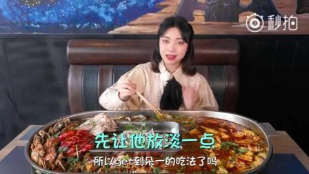 大胃王朵一: 6人份海鲜都无法满足的plus胃, 唯有靠加菜来填补空缺!