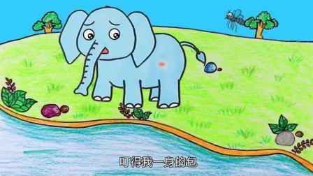 儿童简笔画: 手把手教你画蚊子, 还有更多趣味的小故事!