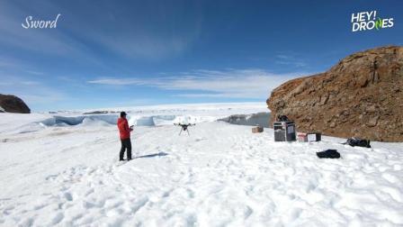 南极也能飞无人机? 中国科考队员航拍展示中山站绝美风光