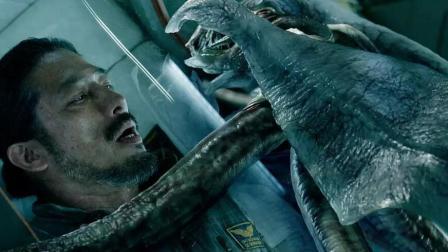 4分钟看完恐怖电影《异星觉醒》, 猪队友唤醒外星生物毁灭地球